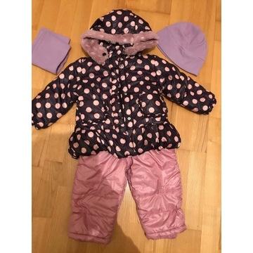 Kurtka i spodnie zimowe Wójcik, dziewczynka, 98 cm