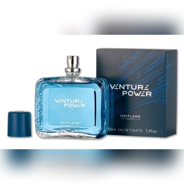 ORIFLAME VENTURE POWER 100ML WODA TOALETOWA DUŻA!