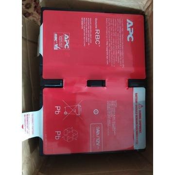 APC Zamienna kaseta akumulatora APCRBC124