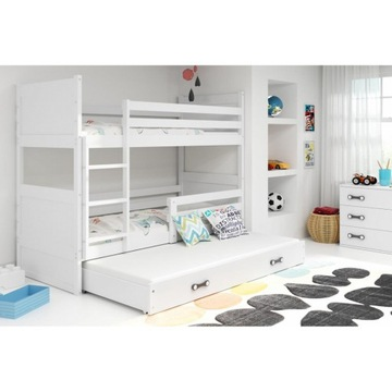 łóżko piętrowe różne rozmiary i wzory nowe Rico 3