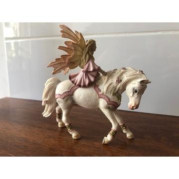 Schleich Freya figurka elf i koń 2006
