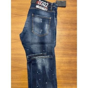 Spodnie jeans DSQUARED2
