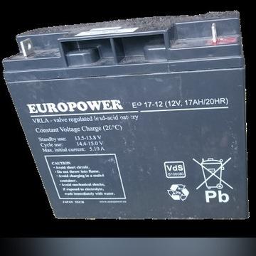 Europower EP17-12 (12V 17Ah)