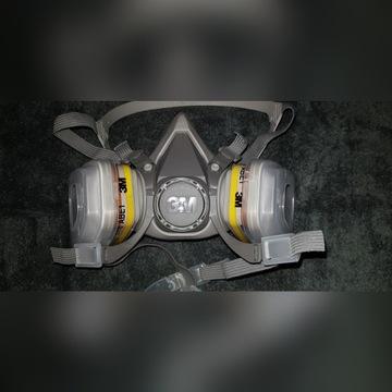 Maska 3M 6200  Komplet Z Filtrami