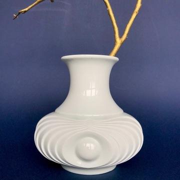 Biskwitowy wazon KPM Bavaria, op-art, space age