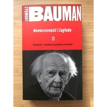 NOWOCZESNOŚĆ I ZAGŁADA - Zygmunt Bauman JAK NOWA!!