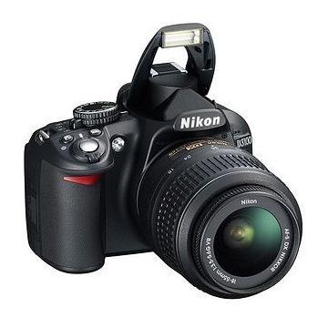 nikon d3100 + dwa obiektywy 18-55 i 50mm