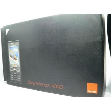 Sony Ericsson K800i pełen komplet w pudełku