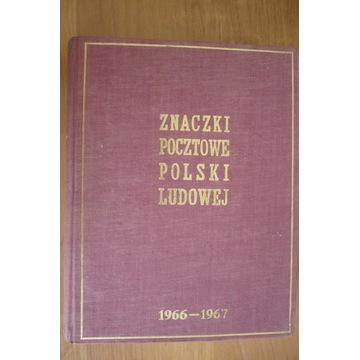 POLSKA,FI- **  KLASER ZE ZNACZKAMI 1966-1967