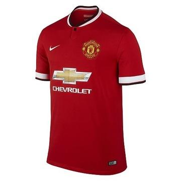 Koszulka Manchester United Chevrolet Nike Ostatnia