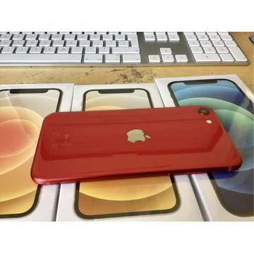 Iphone SE 2020 product RED 8 miesięcy jak NOWY