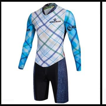 Nowy kombinezon, kostium, strój rowerowy - L