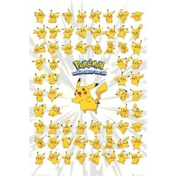 Plakat Pokemon - pikachu 61,5x91