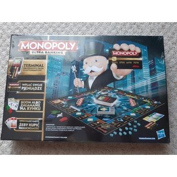 Monopoly Ultra Banking  po polsku, zafoliowana