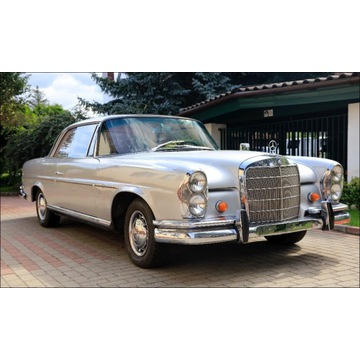 Mercedes W 111 coupe 1962 rok