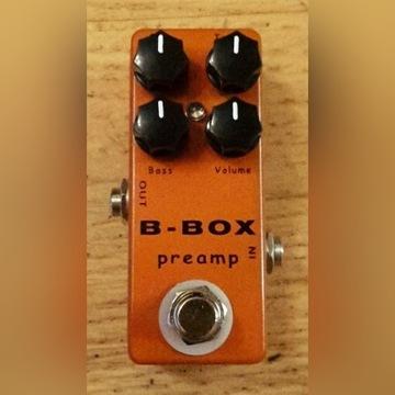 Mosky B-BOX preamp - Xotic BB PREAMP