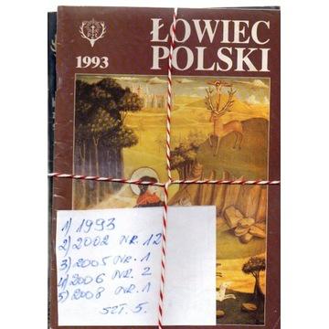 1993,ŁOWIEC POLSKI ,NUMERY JAK NA SKANIE,SZT.5