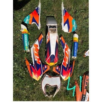 Komplet plastików KTM EXC 2016-2019