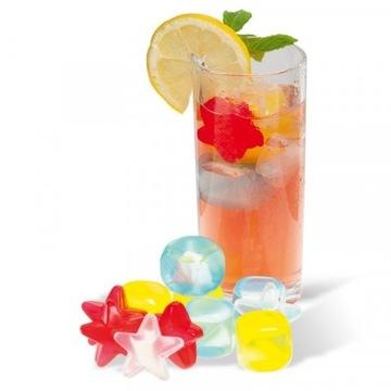 Kostki wielokrotnego użytku do napojów