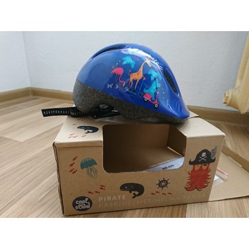 Kask na rower pirate helmet