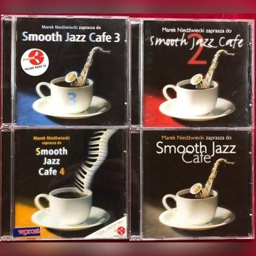 Smooth Jazz Cafe 1-4 4CD, Marek Niedźwiedzki