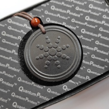 MOCNY Medalion Energii Skalarnej Quantum Pendant