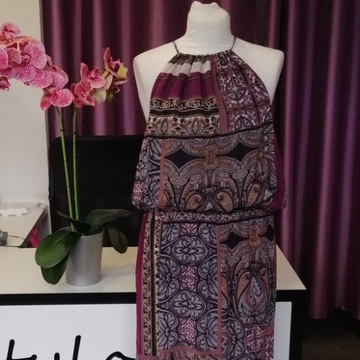 Piękna długa sukienka BY Very rozmiar 44