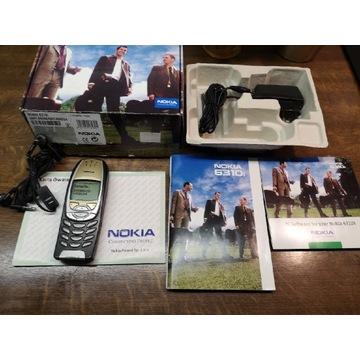 Telefon NOKIA 6310i z oryginalnym zestawem