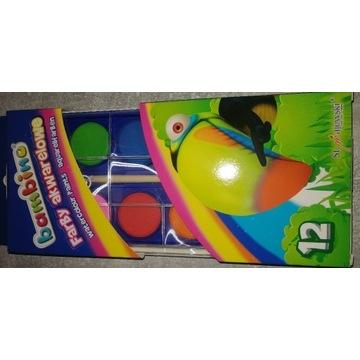 Farby bambino 12 kolorów