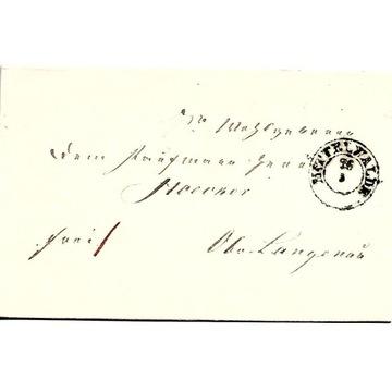 Międzylesie, (Mittelwalde), 1853 rok!!!
