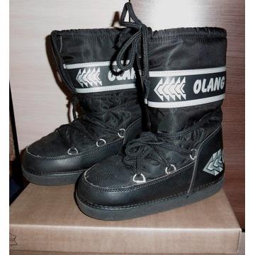 OLANG ocieplane modne buty/śniegow. roz.36