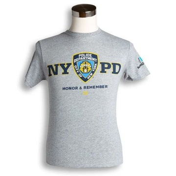 NEW YORK Police Department 9/11 23 t-shirt męski S