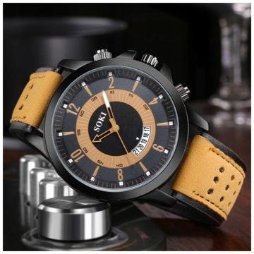 Zegarek męski w sportowym stylu LICYTACJA OD 1 ZŁ