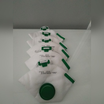 maseczki do twarzy antywirusowe bakteryjne FFP2