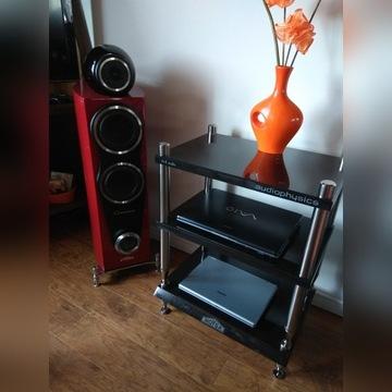 Granitowy stolik audio Hi-Fi