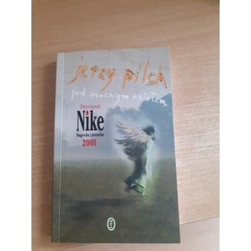 Pod mocnym aniołem Jerzy Pilch autograf!!wydanie I