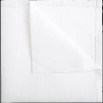 Biała poszetka lniana 100% Len *** CENA/JAKOŚĆ: 5