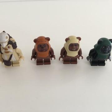 Lego Star Wars figurki Ewok