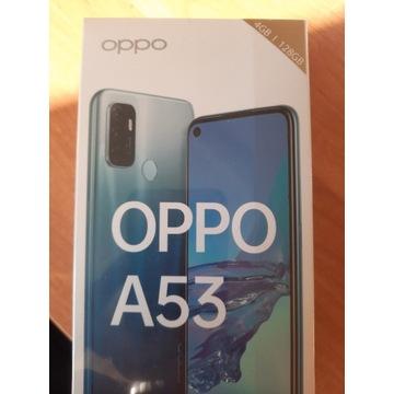 OPPO A53 128GB DS / 4GB CZARNY NOWY W FOLII