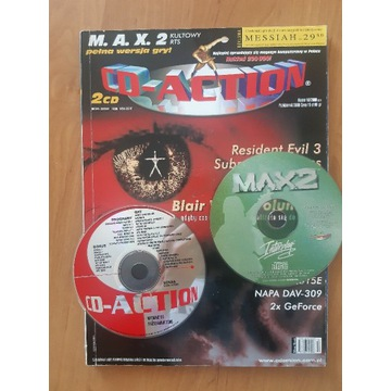 Cd action nr 53, 10/2000 plus cd komplet