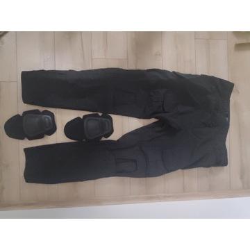Spodnie taktyczne czarne