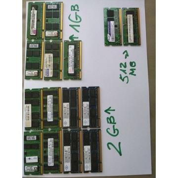 RAM DDR2 do laptopów