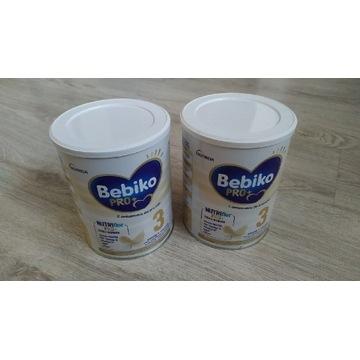 Mleko Bebiko pro+ 3. Dwa opakowania po 700g