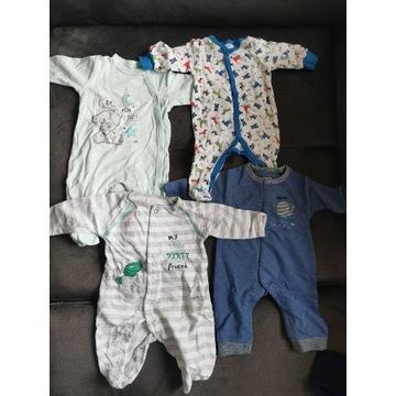 Pajace niemowlęce 4szt. R. 56-62