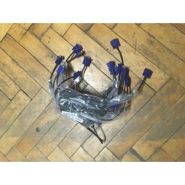 10x Kabel sygnałowy VGA D-Sub 1,8M