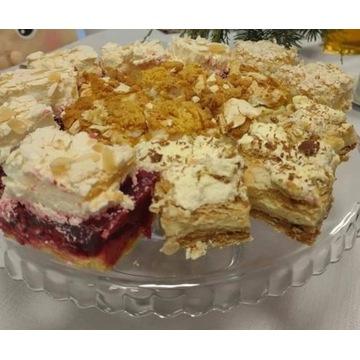 Ciasto MALINOWA CHMURKA. Jest pyszne!