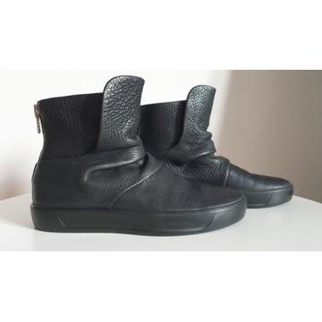 ECCO skórzane buty za kostkę