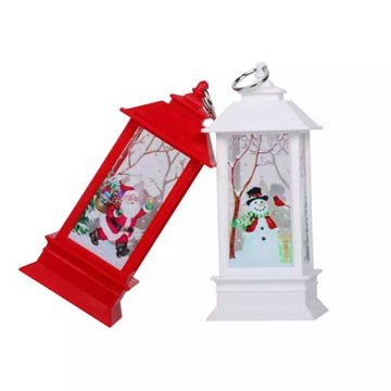 Latarnia świeca led ozdoba Bożonarodzeniowa