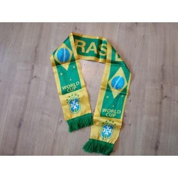 Brazylia Brasil szalik piłkarski dla fana