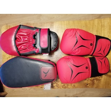 Rękawice bokserskie, łapy trenera outshock